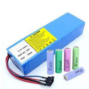 Литиум зай 18650 60V 12AH литийн ионы цэнэглэдэг скутер батерейны багц