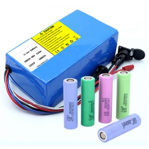 Литийн батерей 18650 48V 12AH 48V 500W BMS бүхий цахилгаан дугуйны зай