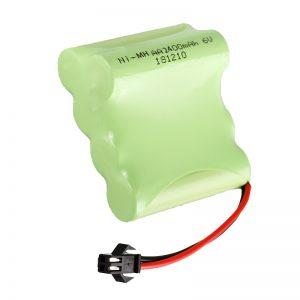 NiMH Цэнэглэдэг батарей AA2400 6V Цэнэглэдэг цахилгаан тоглоом багаж Зайны багц