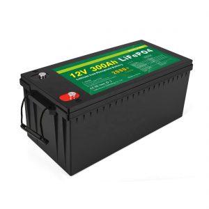 Бүгд нэг литийн ион батерейны гүн мөчлөг 12v 300Ah LiFePo4 хадгалах зай