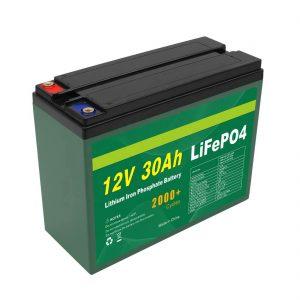OEM зай цэнэглэдэг 12V 30Ah 4S5P лити 2000+ гүн мөчлөг Lifepo4 эсийн үйлдвэрлэгч