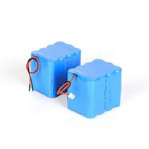Өөрчлөн тохируулсан цэнэглэдэг лити зай 18650 өндөр цэнэгтэй 3s4p 12v ли ион зайны багц