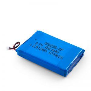 LiPO цэнэглэдэг зай 502236 3.7V 380mAH / 3.7V 760mAH /7.4V 380mAH