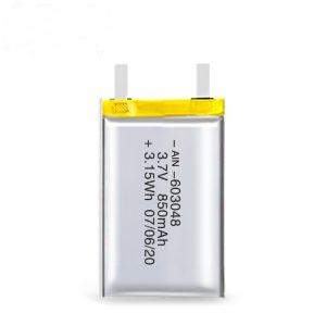 LiPO цэнэглэдэг зай 603048 3.7V 850mAh / 3.7V 1700mAH / 7.4V 850mAH