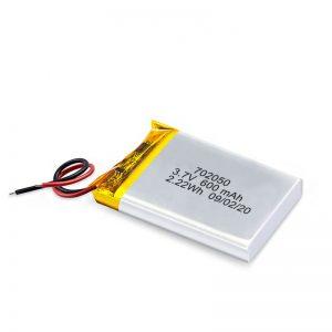 Тоглоомын машинд зориулсан 3.7V 600Mah 650Mah мини ли-полимер литийн батерейгаар цэнэглэдэг батерейны багц