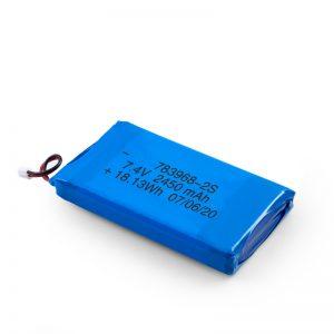 LiPO цэнэглэдэг зай 783968 3.7V 4900mAH / 7.4V 2450mAH / 3.7V 2450mAH /