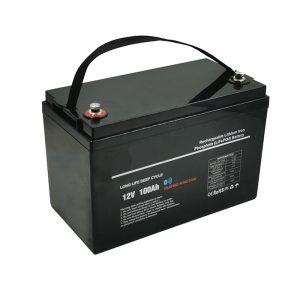 Бага температур LiFePO4 12V 100AH