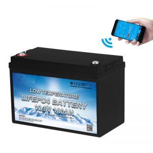 Бага температурт LiFePO4 батерей 12V 100AH