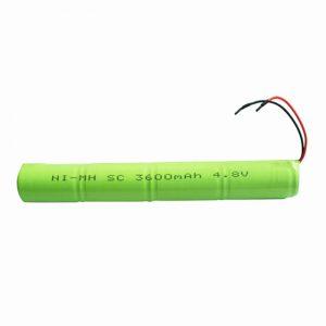 NiMH цэнэглэдэг батерей SC 3600mAH 4.8V